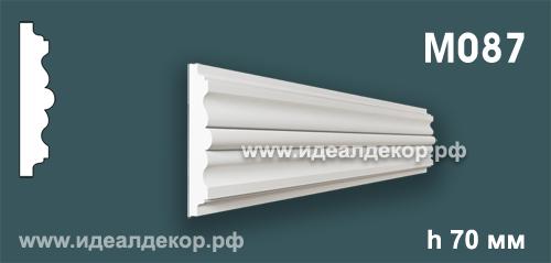 Продается m087 (гипсовый молдинг с гладким профилем) по цене 323 руб.