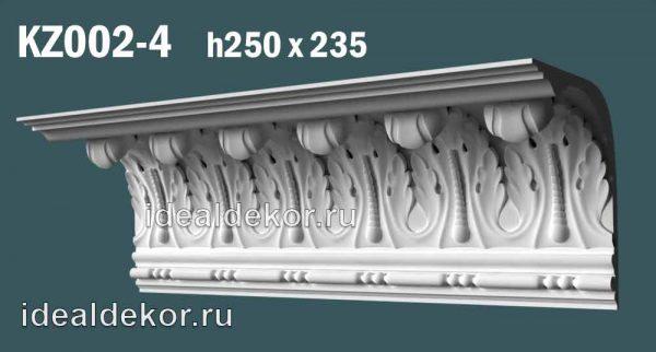 Продается kz002-4 гипсовый карниз сборный по цене 2096 руб.
