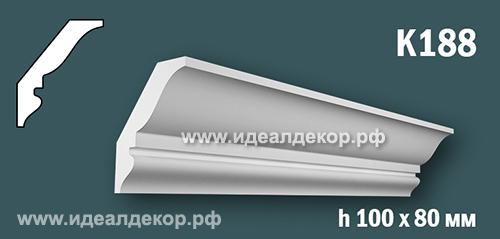 Продается к188 (гипсовый карниз с гладким профилем) по цене 555 руб.