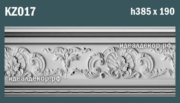 Продается kz017 гипсовый карниз сборный по цене 3055 руб.